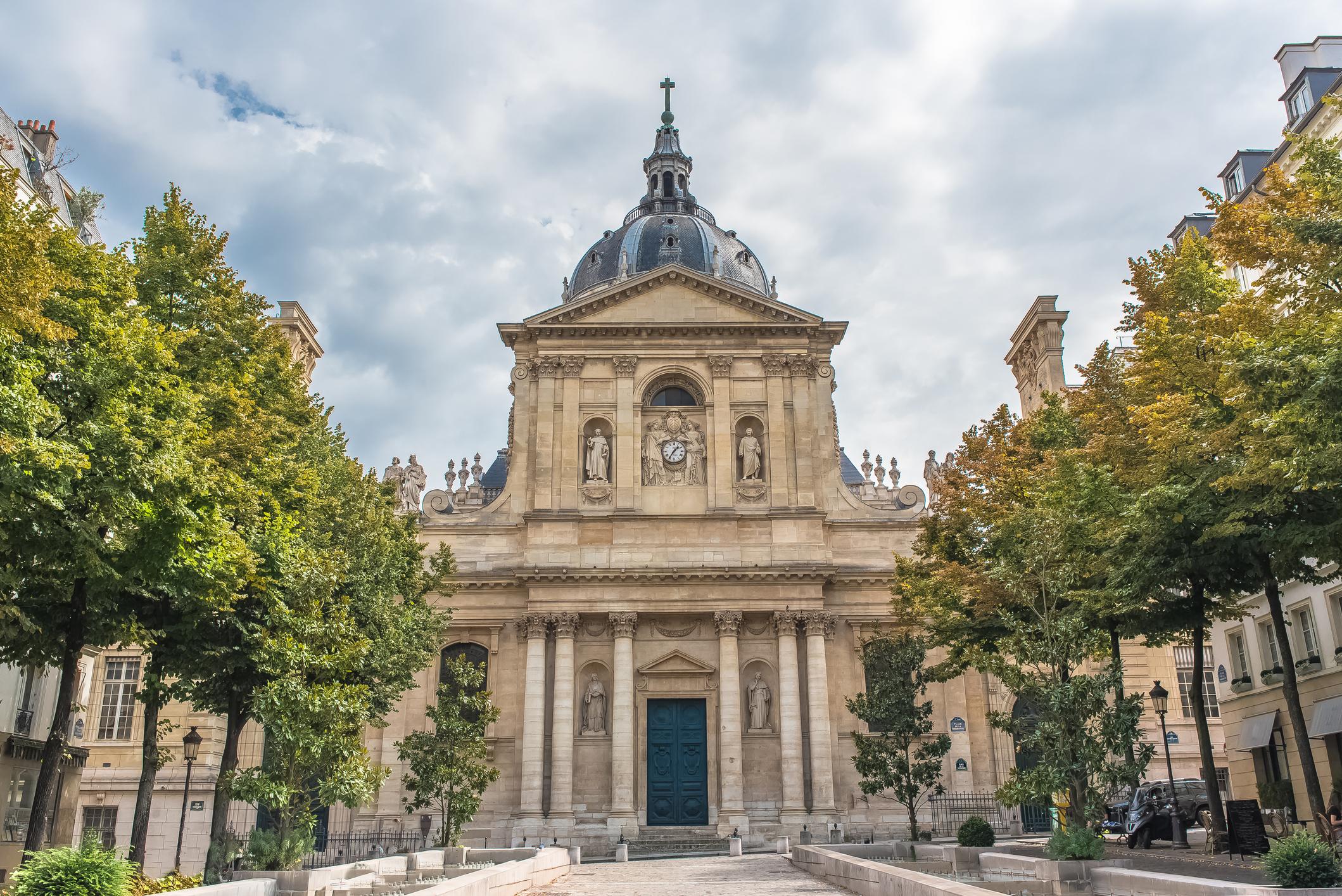 Paris, the Sorbonne university